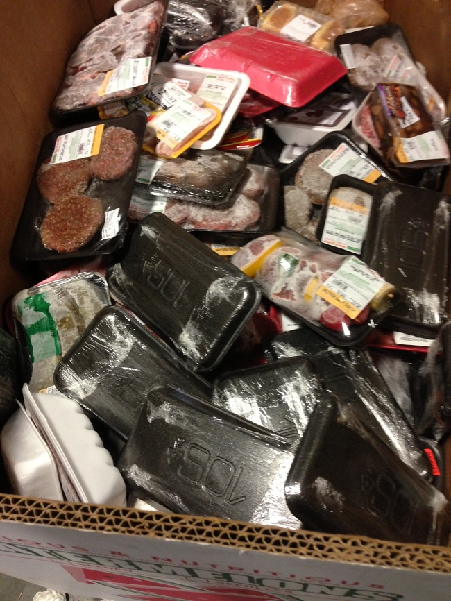 Greater Boston Food Bank Discards