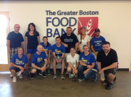 Greater Boston Food Bank Next 26 Team