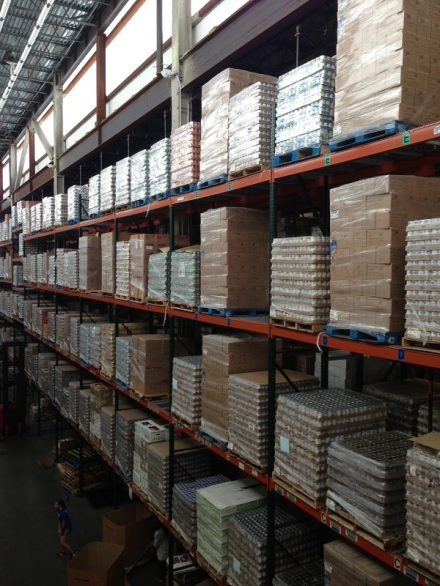 Greater Boston Food Bank Shelves