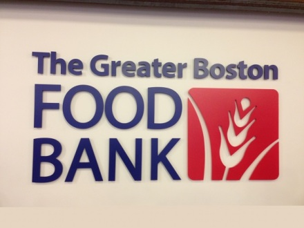 Greater Boston Food Bank Sign