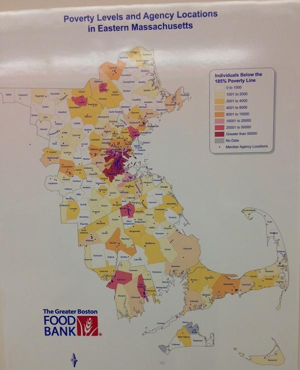 Greater Boston Food Bank Stats