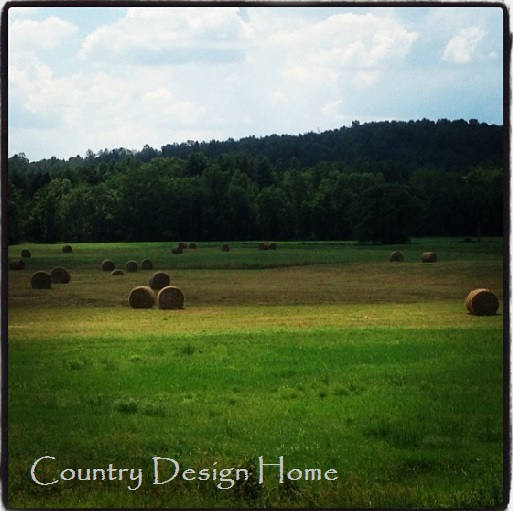 Maine Bales of Hay