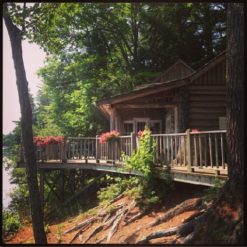 Maine Log House