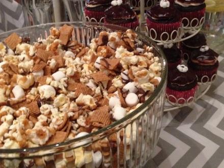 Smores Bowl of Popcorn