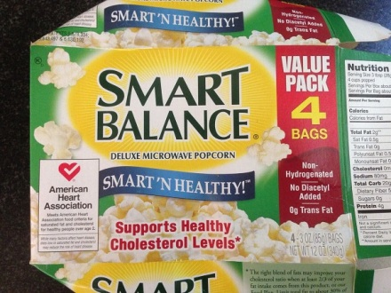 Smores Smart Balance Popcorn