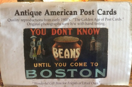 Antique Revival Boston Beans