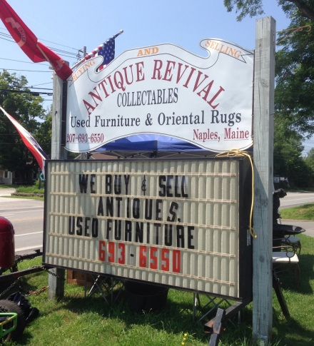 Antique Revival Sign