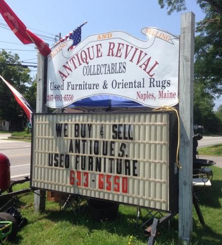 Antique Revival Sign