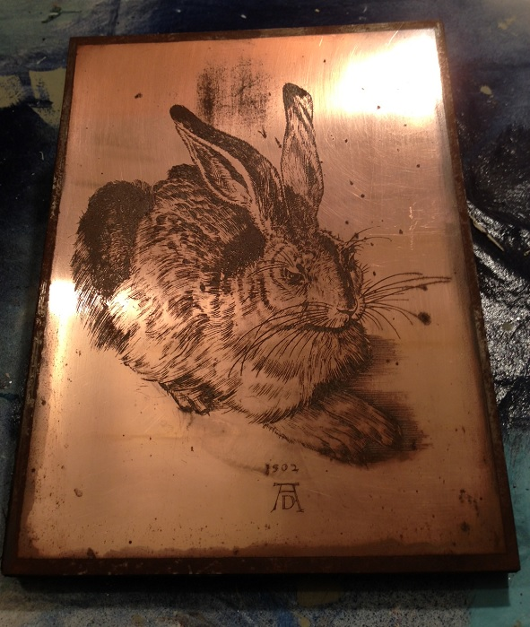 Copper Bunny