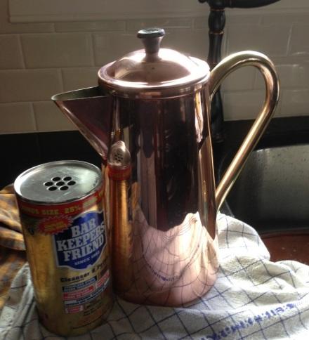 Copper Pot Complete