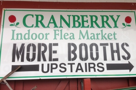 Cranberry Flea Sign