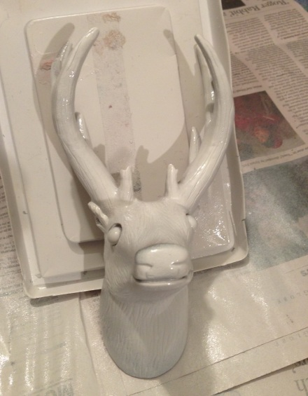 Deer Head Primed 2