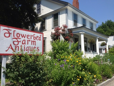 Flowerbed Farm Antiques Sign