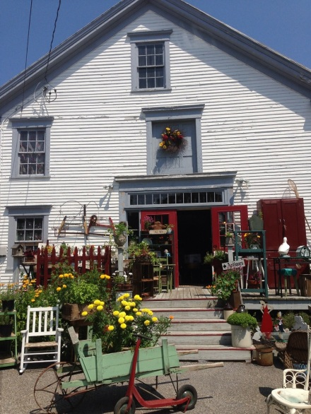 Flowerbed Farm Entrance