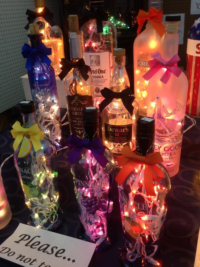 Raynham Flea Lamp Bottles
