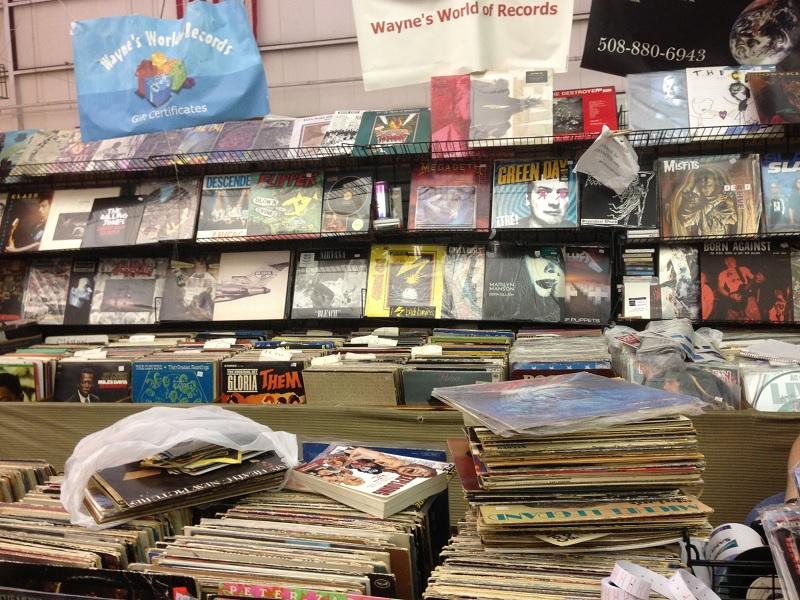 Raynham Flea Waynes World Records