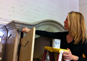 Amy Painting Armoire