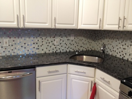 Backsplash Completed
