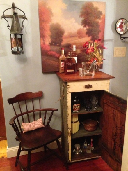 Bar Cart Opened