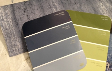 Bathroom Color Palette