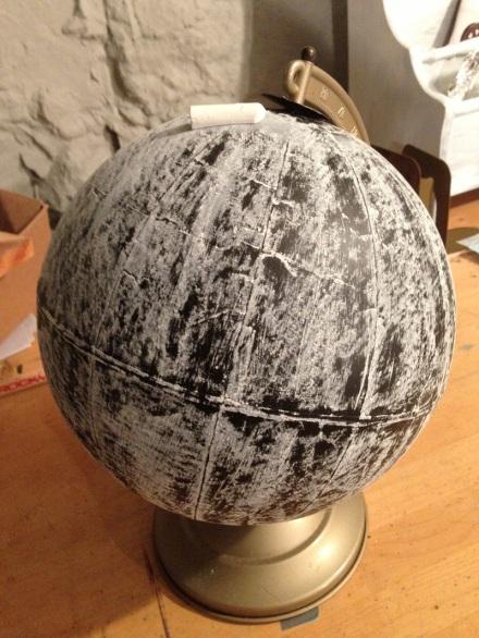 Chalked Globe