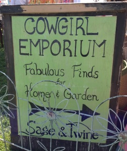 Cowgirl Emporium w Sage and Twine