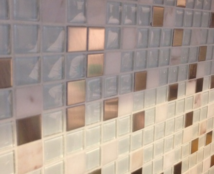 Grouted Kitchen Tiles