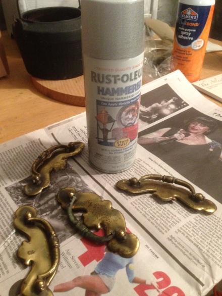 Hammered Rustoleum