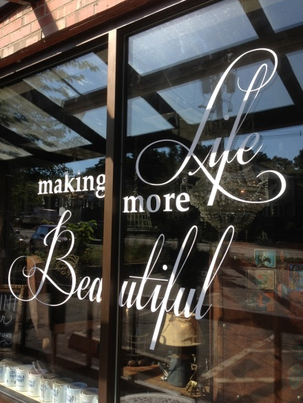 Maison Decor Life More Beautiful Sign