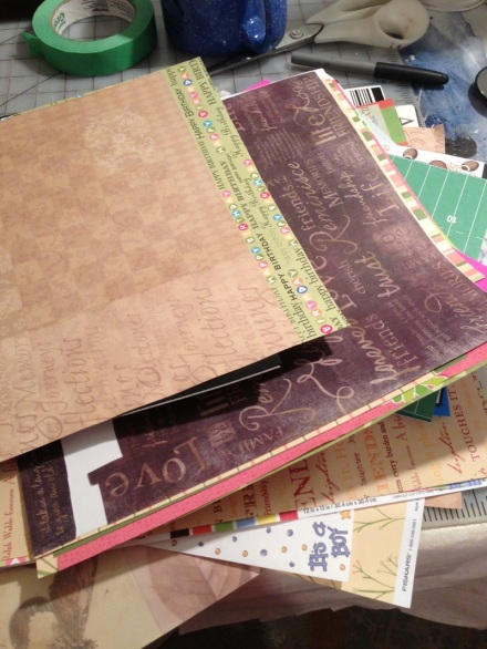 Map Craft Paper Pile