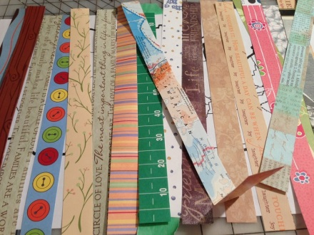 Map One Inch Strips