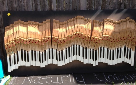Piano Keys Art by Naturally Unique