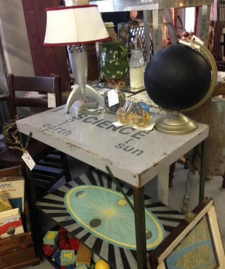 Science Table at Vintage Thymes Market