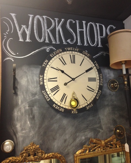 Time Clock @ Maison Decor