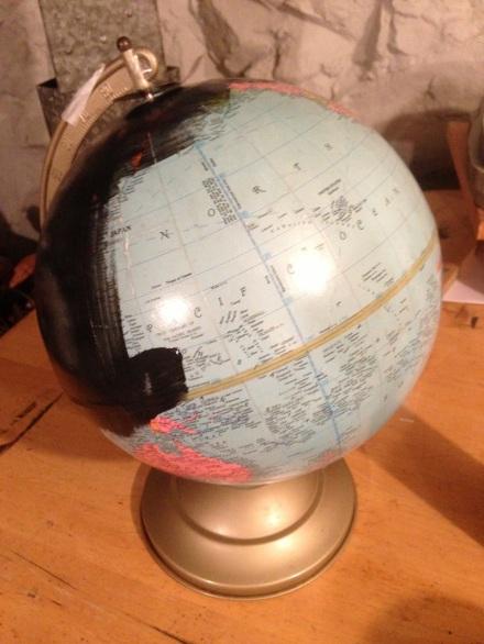 Unpainted Globe