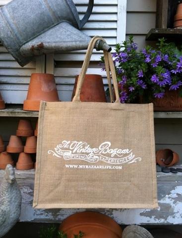 Vintage Bazaar Tote Bag