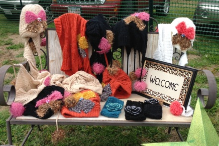 Vintage Hats and Scarves the Greeley Girls