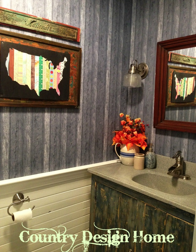 Country style bathroom country design home for Country style project homes