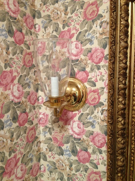 Before Cabbage Roses and Brass Sconces