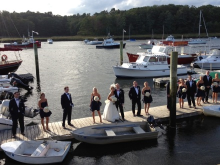 Bridal Party Dockside