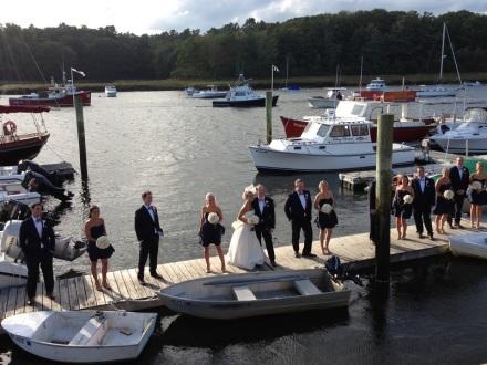 Bridal Party Dockside