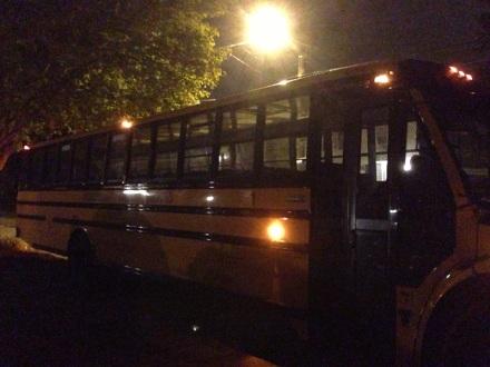 Bus Ride to Boston