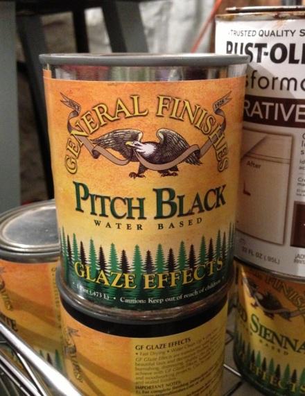 General Finishes Black Glaze