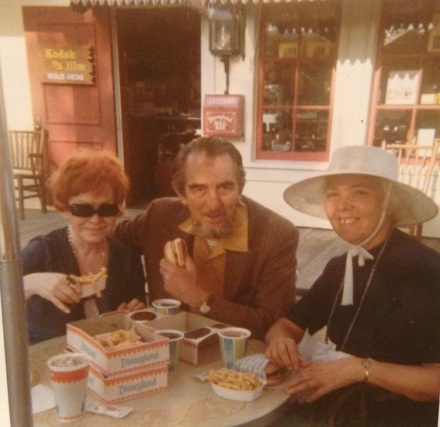 Lally, Arthur and Bernadette at Disney