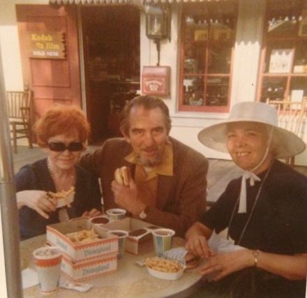 Lally, Arthur and Bernadette at Disney