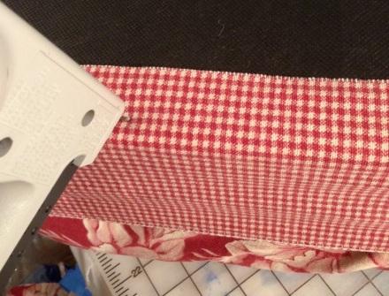 Stapling Fabric to Base