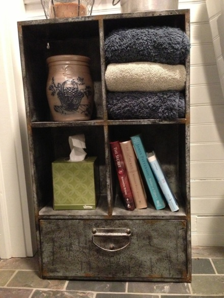 Tin Shelf Complete