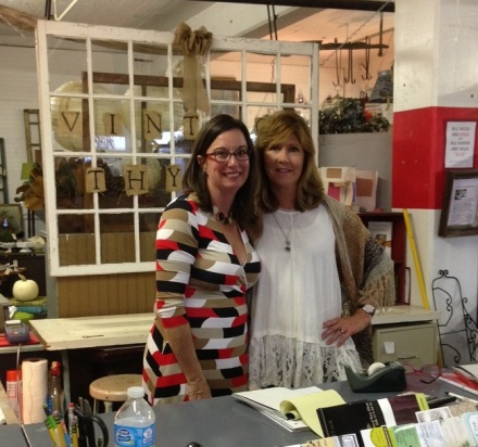 Vintage Thymes Founders Robin & Nancy