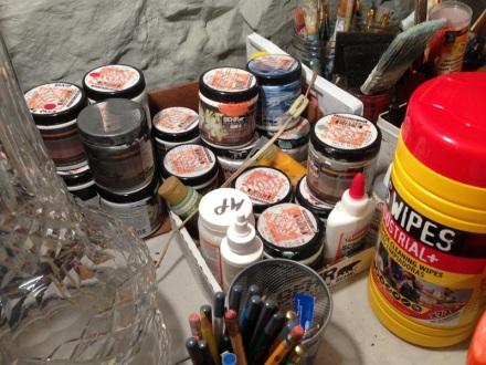 Workbench Paints
