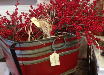 Berries in Barrel